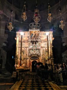 Interior Church of Holy Sepulcher
