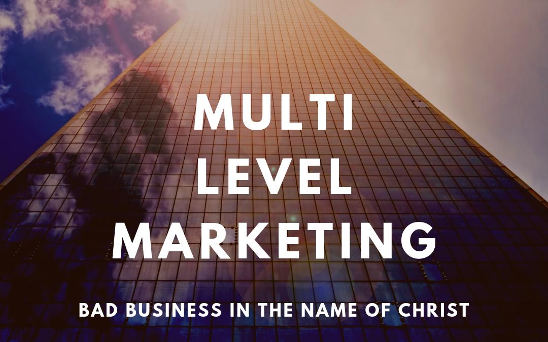 S2:E24 Multi-Level Marketing, Pyramid, and Ponzi Schemes (1 of 4)