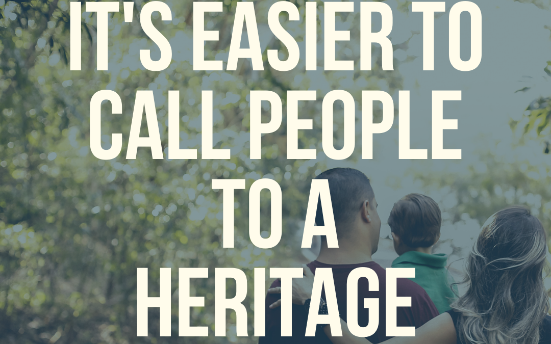 E3:S46 Takeaway 5: It's Easier to Call People to a Heritage than to a Saving Faith
