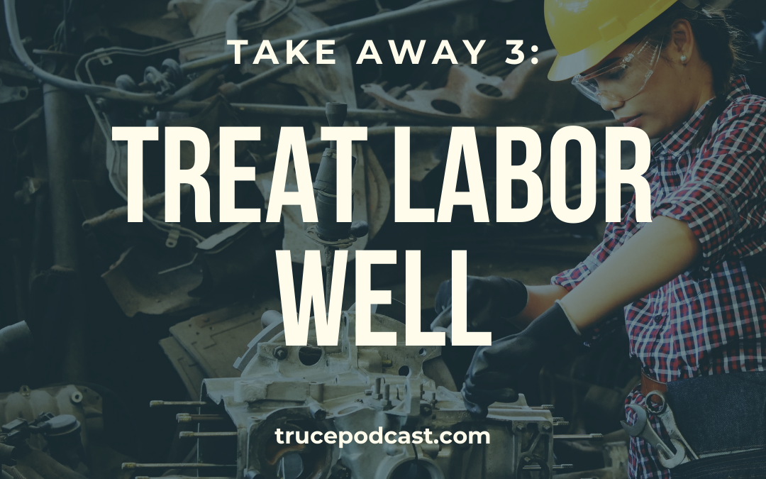 How can Christian treat labor well